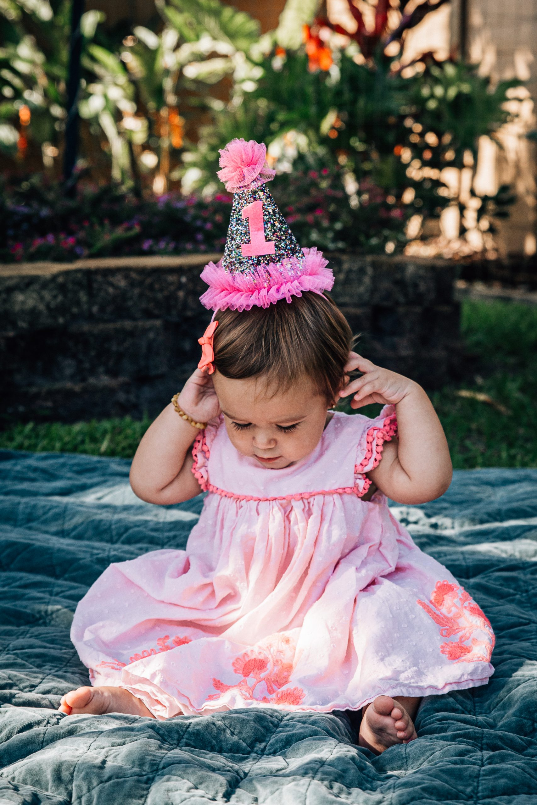 Ft. Lauderdale first birthday family photo sesssion